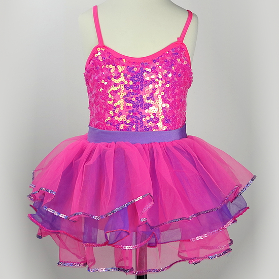 Pink Sparkle Tutu Ballet costume for hire