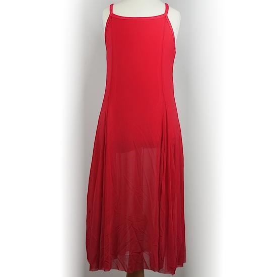 Red Lyrical Dress Lyrical costume for hire