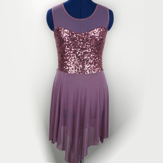 Pink Lyrical Dress Lyrical costume for hire