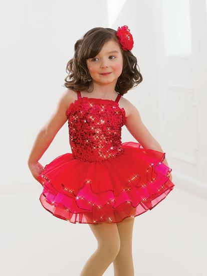 Cherry Sparkle Tutu Ballet costume for hire