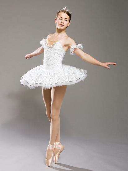 Winter Sparkle Tutu Ballet costume for hire