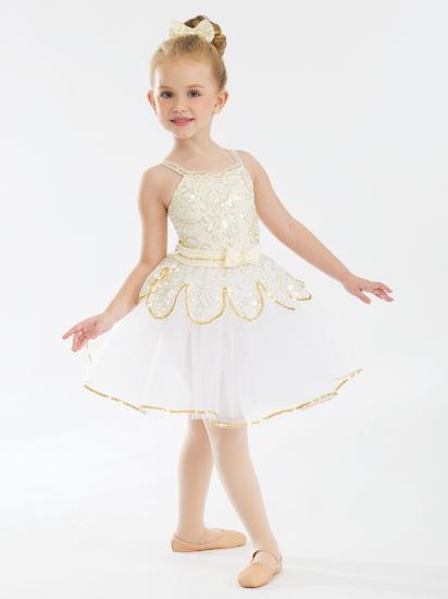 Gold Ballet Ballet costume for hire
