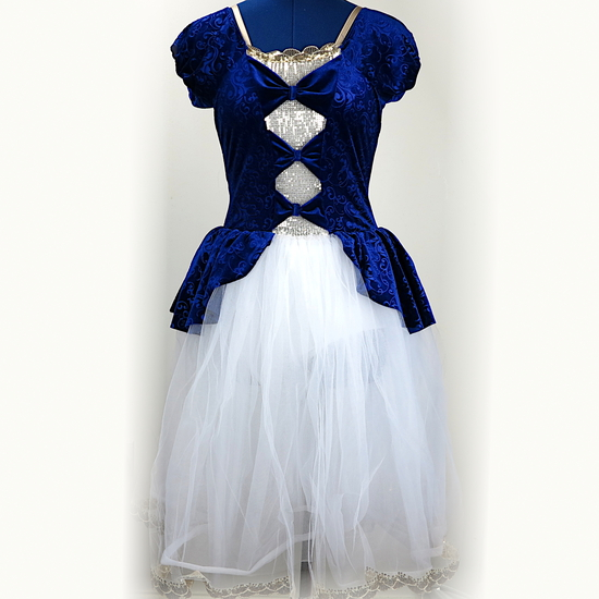 Blue Fairytale Tutu Ballet costume for hire