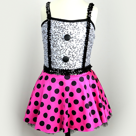Little Tapper Modern and Tap costume for hire