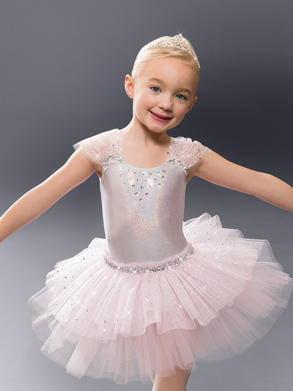 Pink Shimmer Tutu Ballet costume for hire
