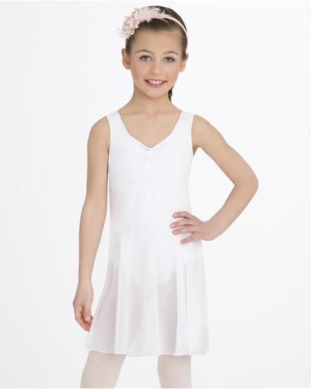White Empire Line Ballet costume for hire
