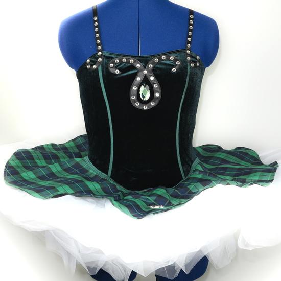 Celtic Tutu Ballet costume for hire