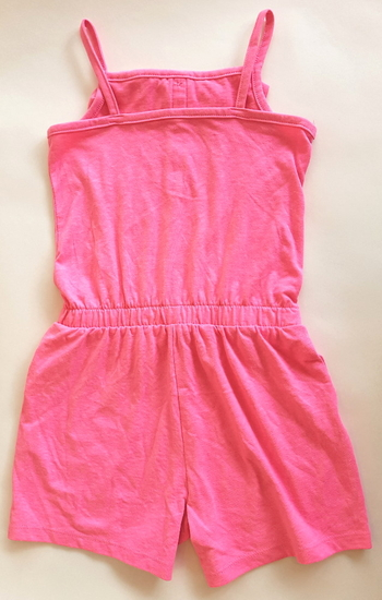 Pink Play Suit Pink costume for hire