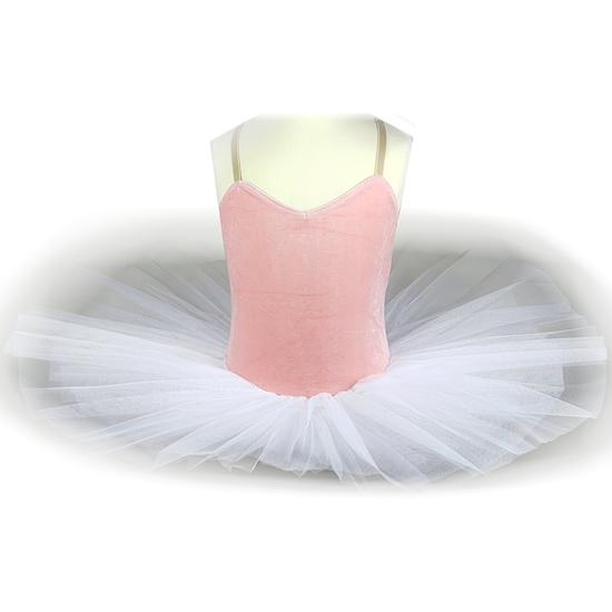 Pink Velvet Tutu Ballet costume for hire