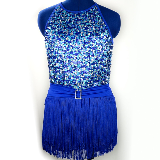 Blue Flapper Modern and Tap costume for hire