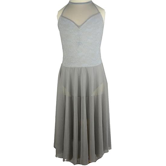 Silver Lyrical Dress Lyrical costume for hire