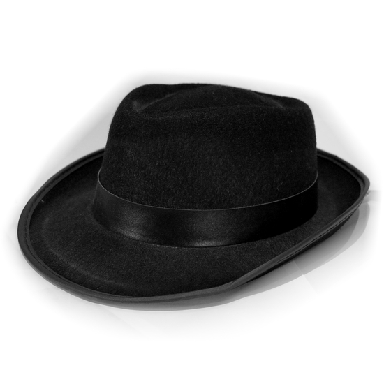 Fedora Hat Black costume for hire